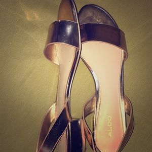 Rose gold, size:10